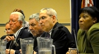 Board Members at a Public Hearing